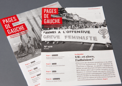 Pages de gauche